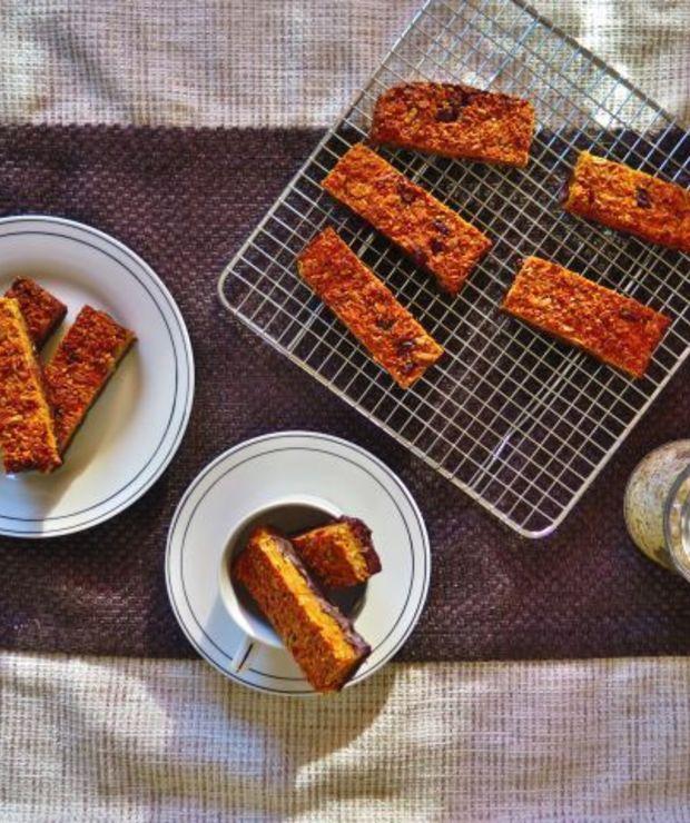 Marchewkowe fit batoniki - Desery i ciasta