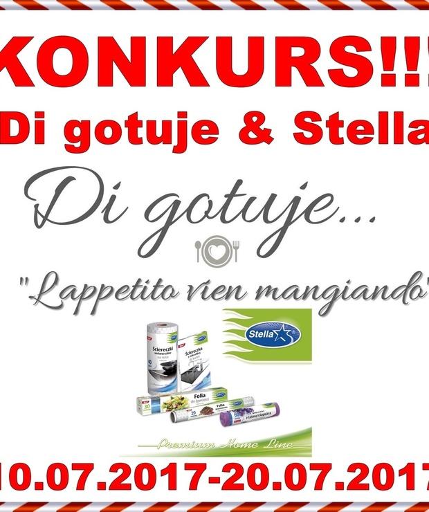 KONKURS - Di gotuje & Stella - do wygrania zestaw 5 produktów! - Produkty