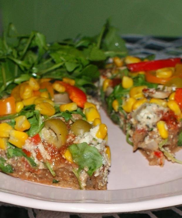 Wegańska pizza - Pizza i calzone