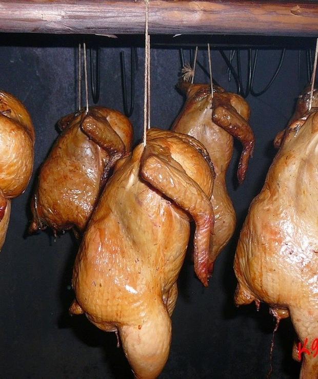 Ziołowy kurczak wędzony - Na gorąco