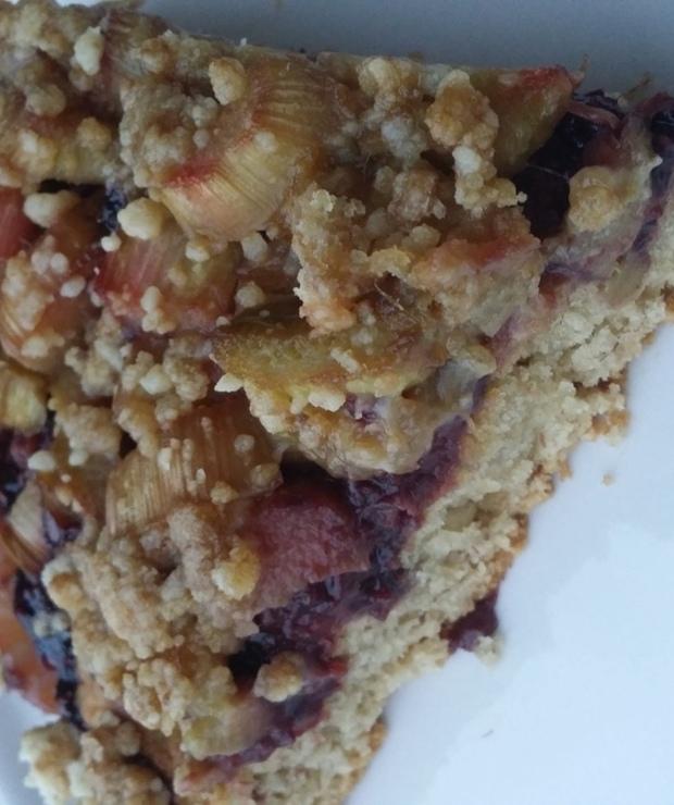 Wegańskie ciasto z rabarbarem - Inne