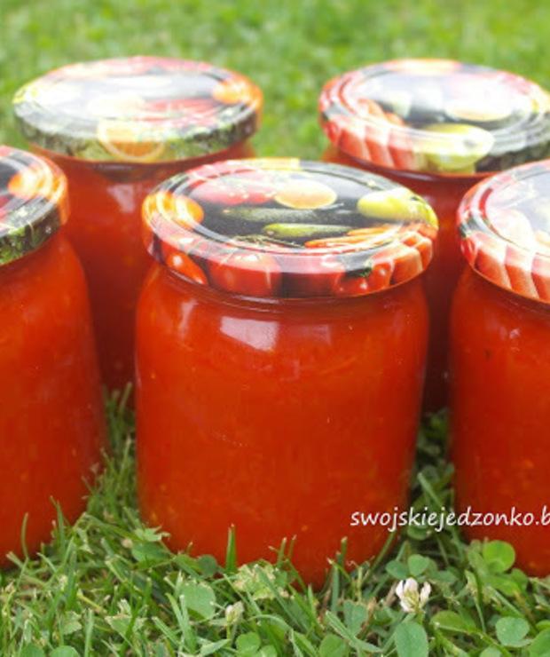 Sos do spaghetti do słoików - Warzywne