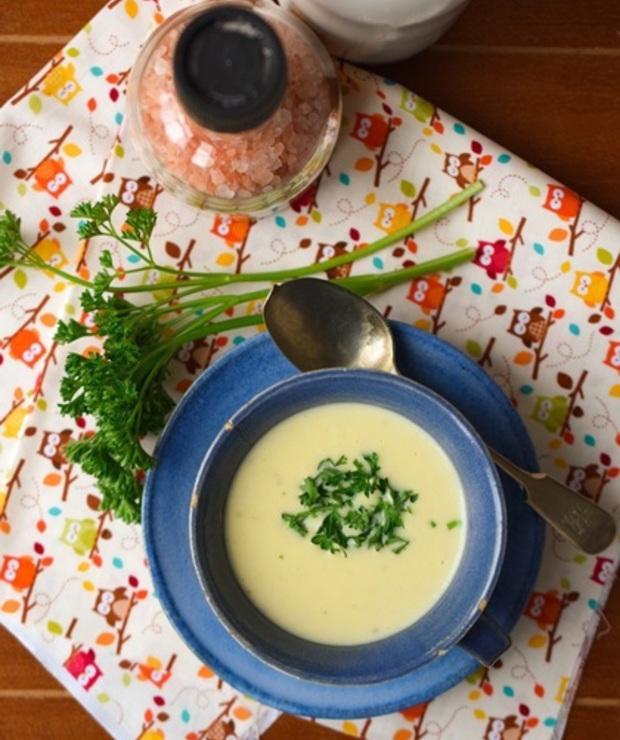 Zupa z wędzonego czosnku - Kremy