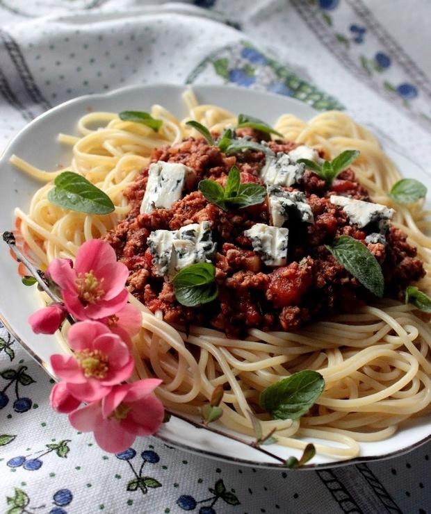 Spaghetti po bolońsku - Drób