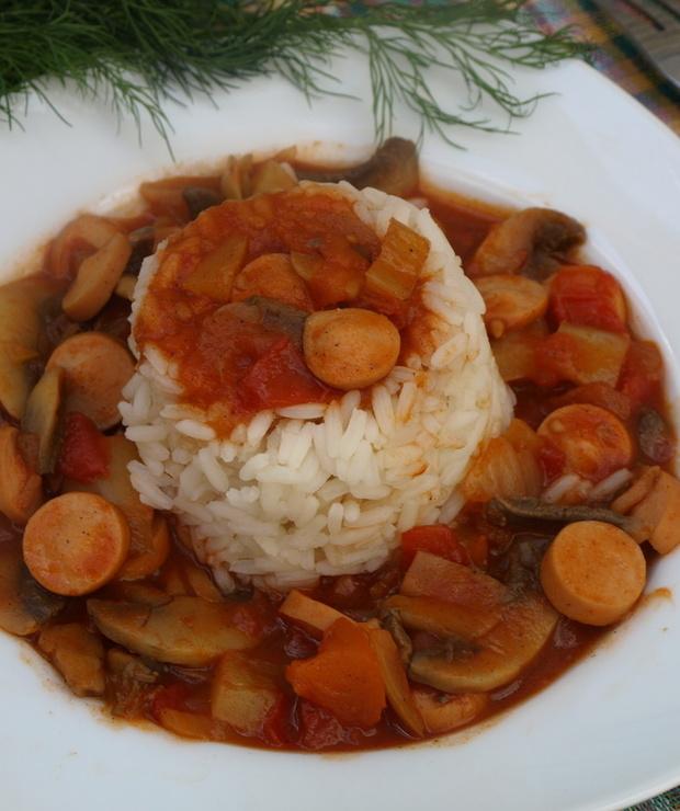 Danie proste i szybie w przygotowaniu a bardzo smaczne , syte i rozgrzewające :) - Dania z ryżu i kaszy
