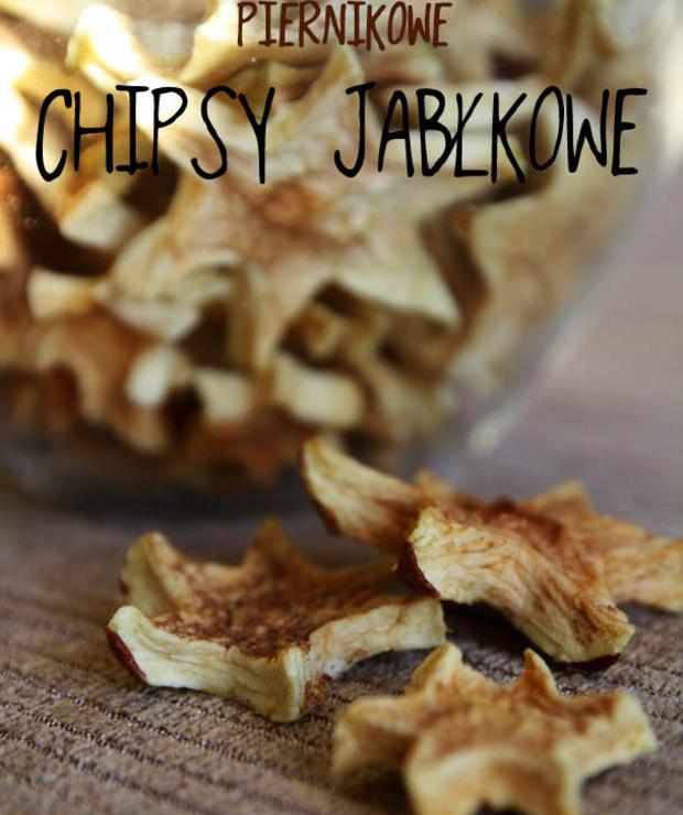 chipsy jabłkowe witariańskie | NATURALNE ŚWIĘTA - Na zimno