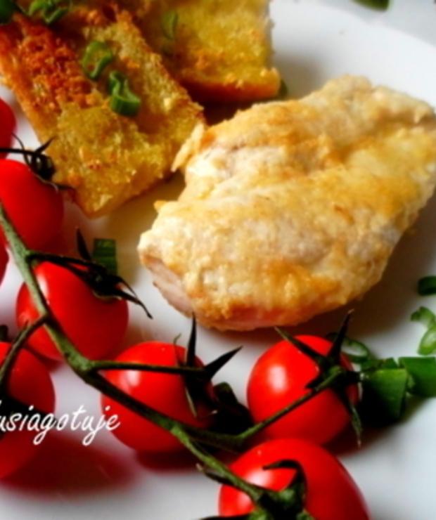 Pierś z kurczaka w parmezanie - Drób