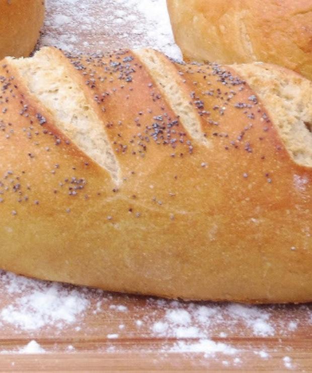Chleb z mąki Szymanowska-chlebowa  typ 750  - Chleby