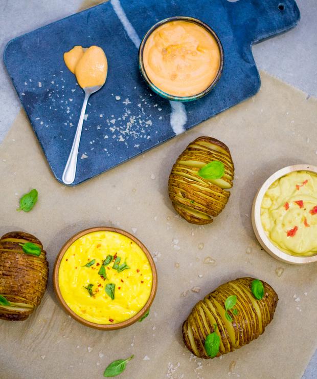 3 bardzo proste, wegańskie sosy (idealne do grilla) - Przystawki i przekąski