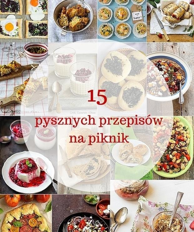 15 pysznych przepisów na piknik - Na zimno