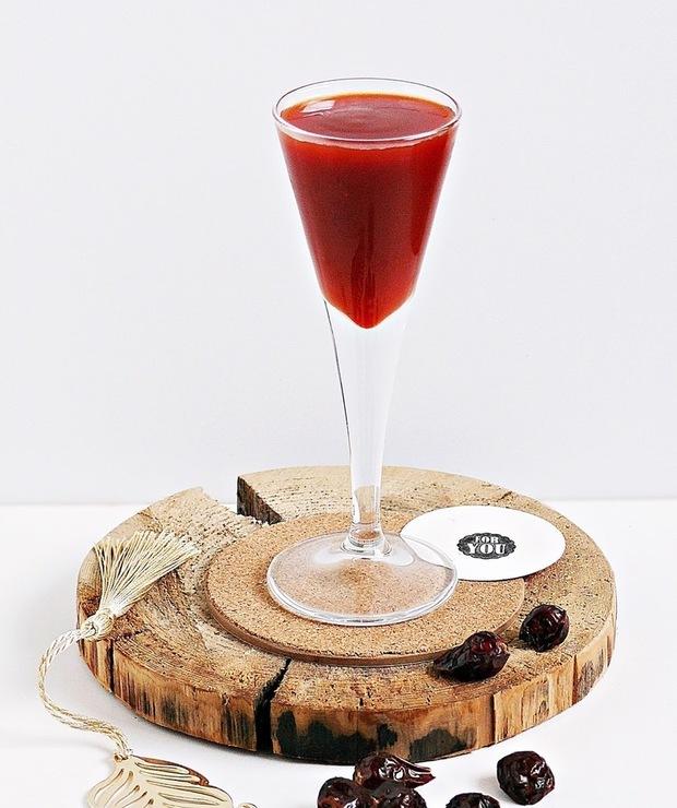 Eliksir z owoców dzikiej róży - Alkoholowe