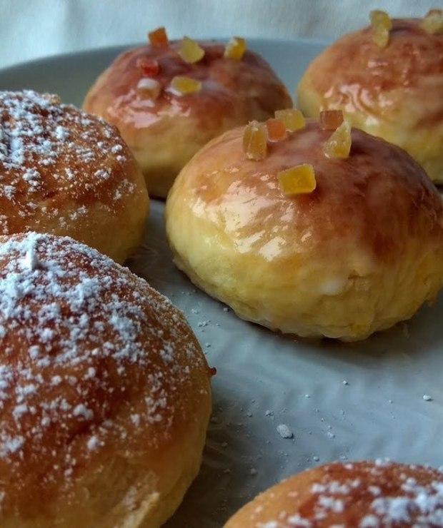 Pączki pieczone - Bułki