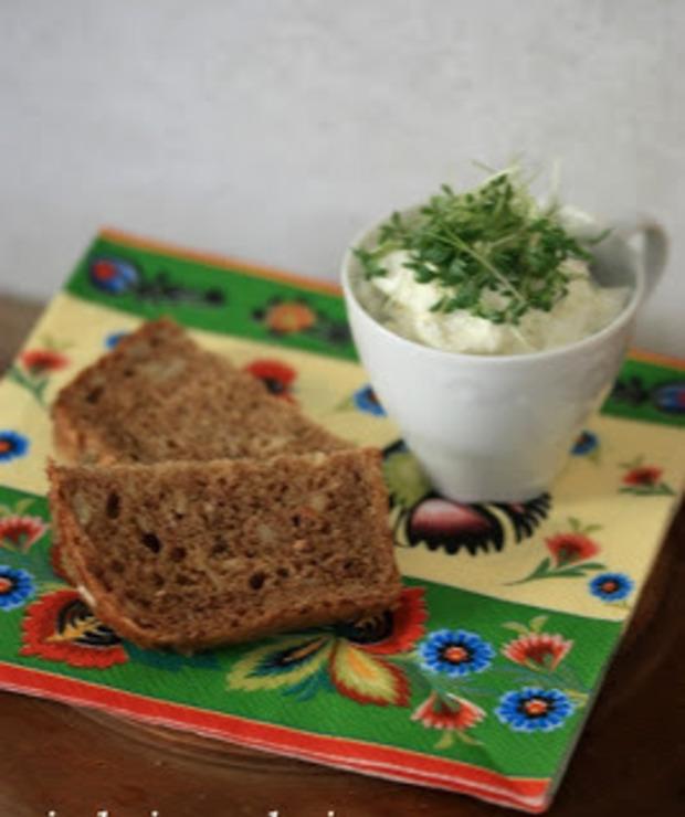 Pasta z serem bałkańskim i rzeżuchą - Na zimno