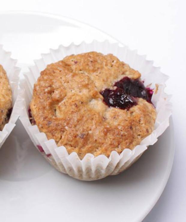 Muffinki vege z borówkami amerykańskimi - Muffiny i babeczki
