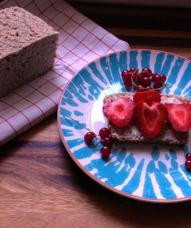 Chleb owsiano-ryżowy na zakwasie (bezglutenowy) - Chleby