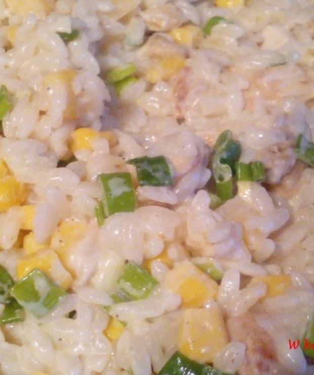 Sałatka z makaronem ryżowym - Na zimno