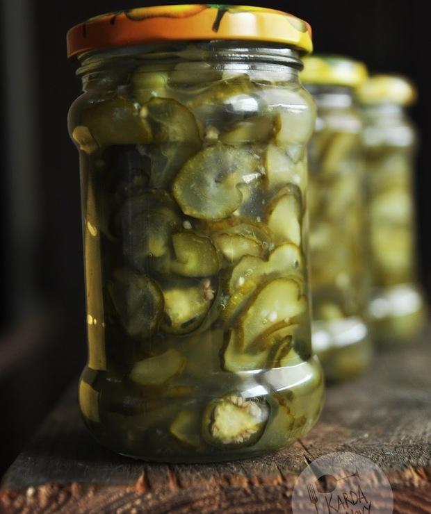 Sałatka z ogórków i jalapeno - Warzywne