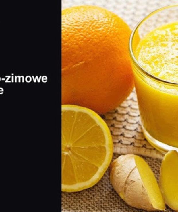 cytrusy + goździki + imbir + miód - Zimne