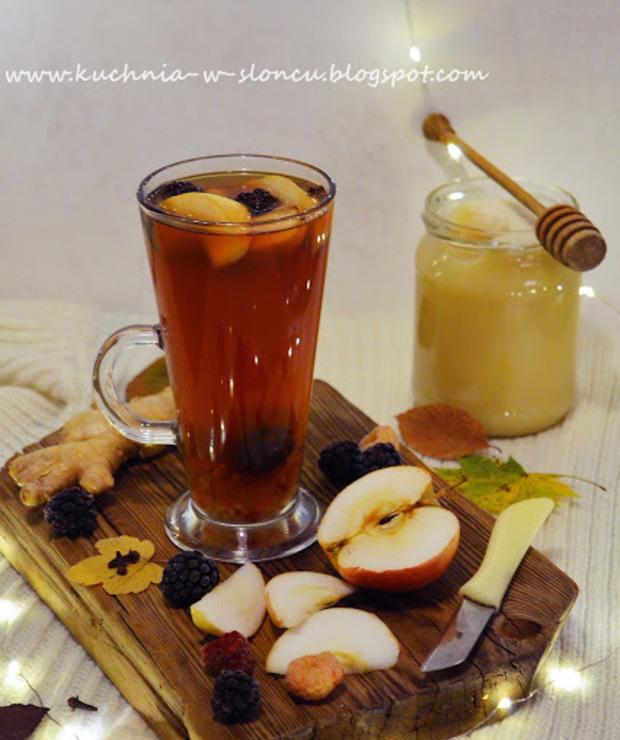 Rozgrzewająca herbata na listopadową słotę - Gorące