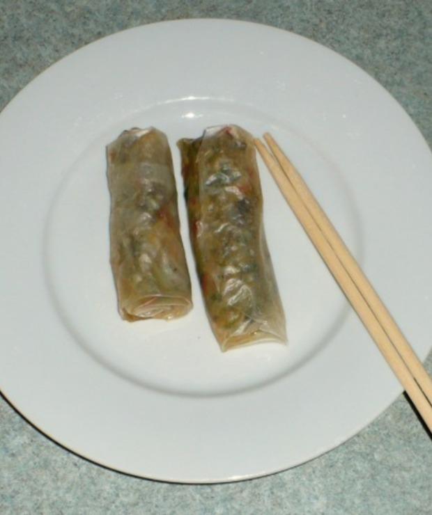 Dietetyczne sajgonki bez smażenia - Warzywa