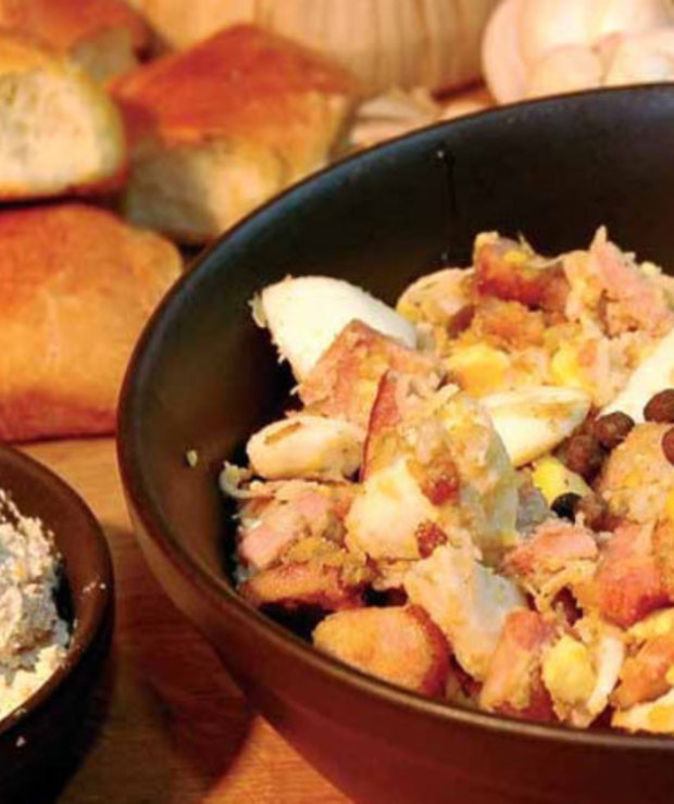 Jajecznica wielkanocna - Jajka i omlety