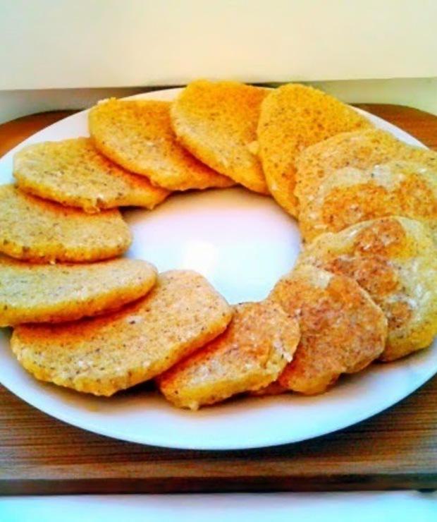 Placki kukurydziane - Placki i placuszki