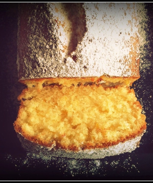 Ciasto cytrynowe (lemon drizzle cake)  - Ucierane