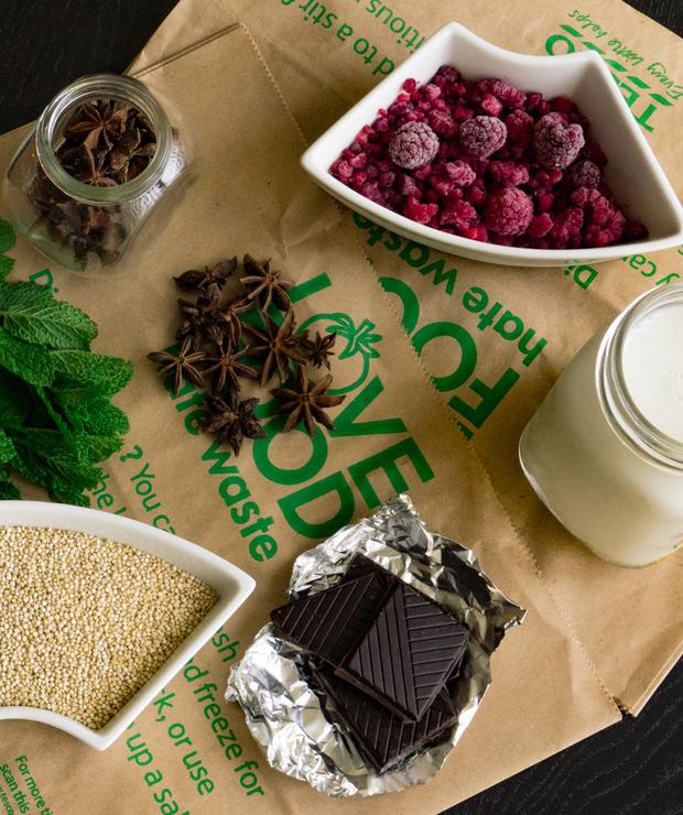 Pudding z komosy ryżowej - Musli i podobne