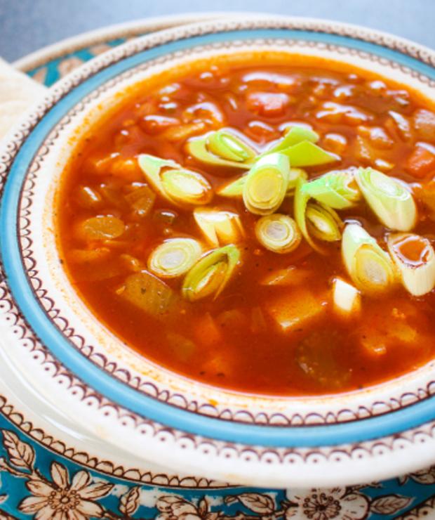 Warzywna Zupa Curry Z Ciecierzyca Targ Smaku