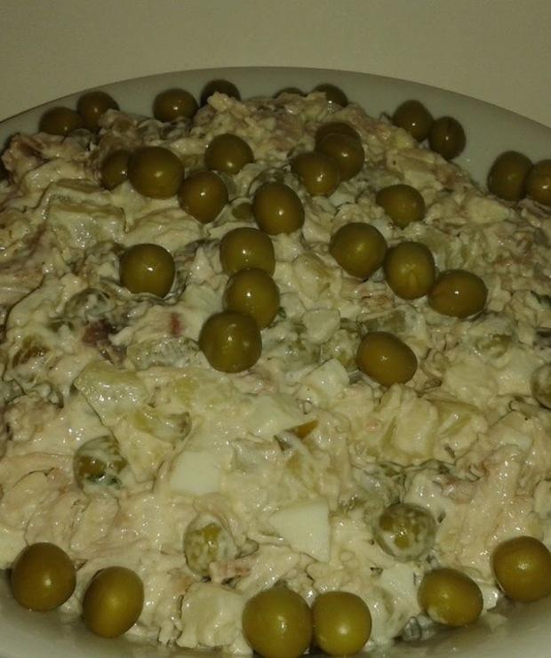 Sałatka z kurczakiem - Mięsne