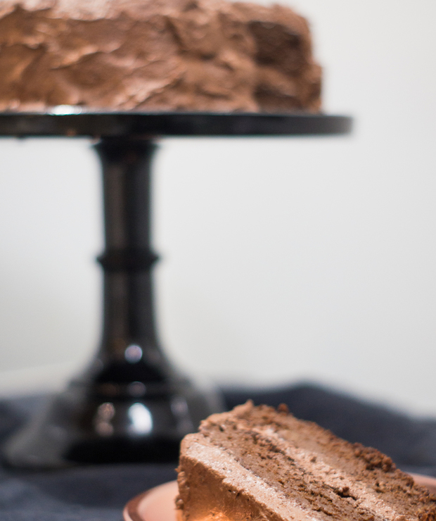 Wegański tort czekoladowy – idealny - Torty