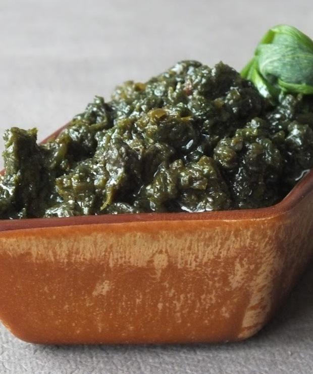 Pesto z czosnku niedźwiedziego - Warzywne
