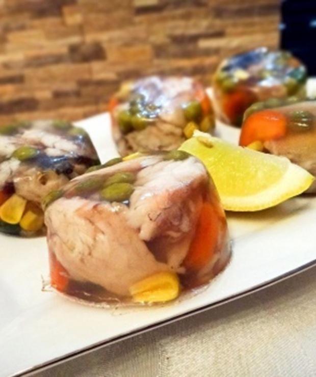 Ryba w galarcie z warzywami – wspaniała przystawka - Na zimno