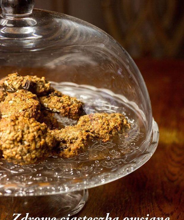 Ciasteczka owsiane – bez glutenu, bez tłuszczu, bez nabiału, bez cukru, wegańskie - Bezglutenowe