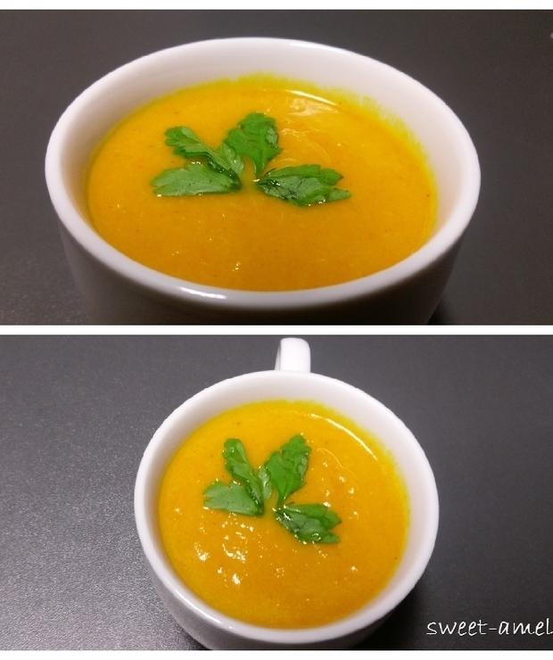Zupa krem z marchewki - Z warzywami