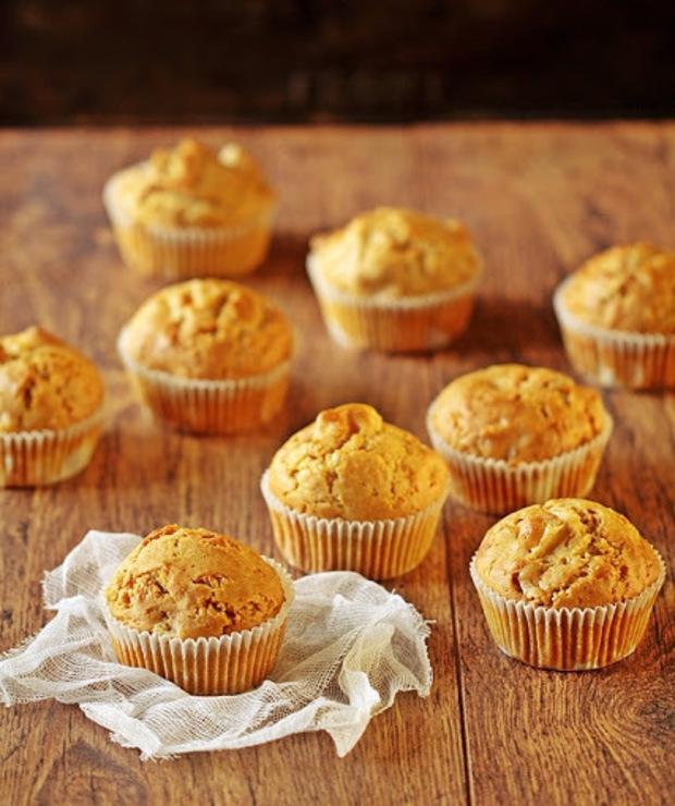 Wegańskie muffiny z jabłkami - Muffiny i babeczki