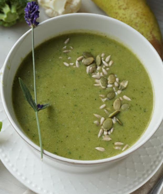 Zupa z zielonych warzyw - Kremy