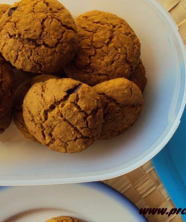 Ciasteczka kokosowe ( bez glutenu, jajek i masła ) - Ciastka