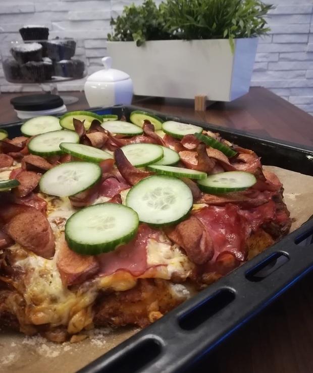 Domowa pizza z ogórkami! - Pizza i calzone