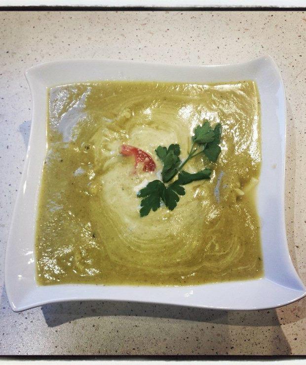 zupa-krem z brokułów - Kremy