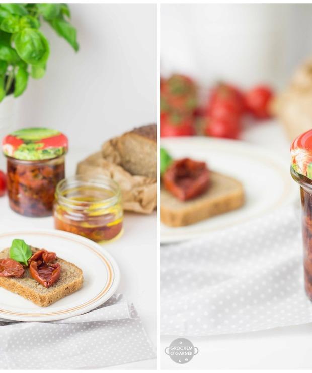 Domowe suszone pomidory - Warzywne