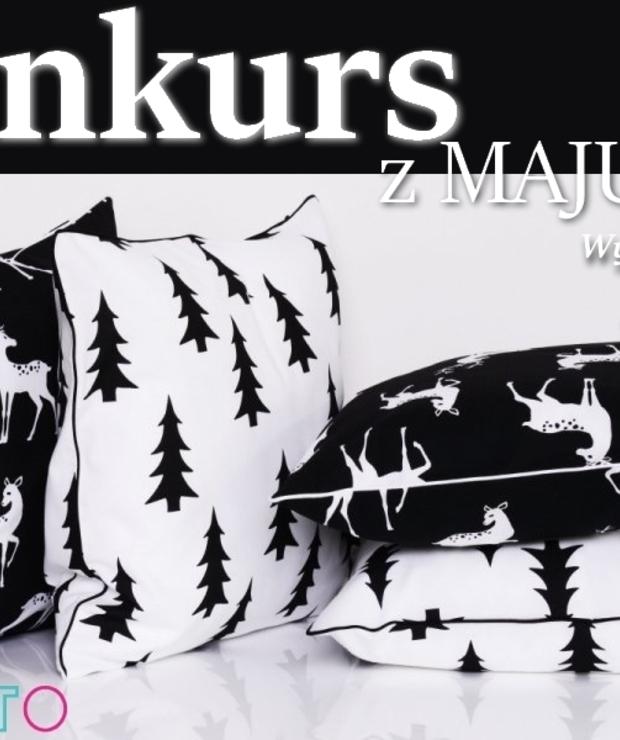 Konkurs z Majunto. Wygraj zestaw pięknych poduszek - Produkty