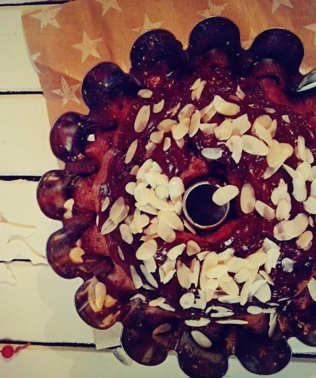 Babka piernikowa i suszone wiśnie - Babki