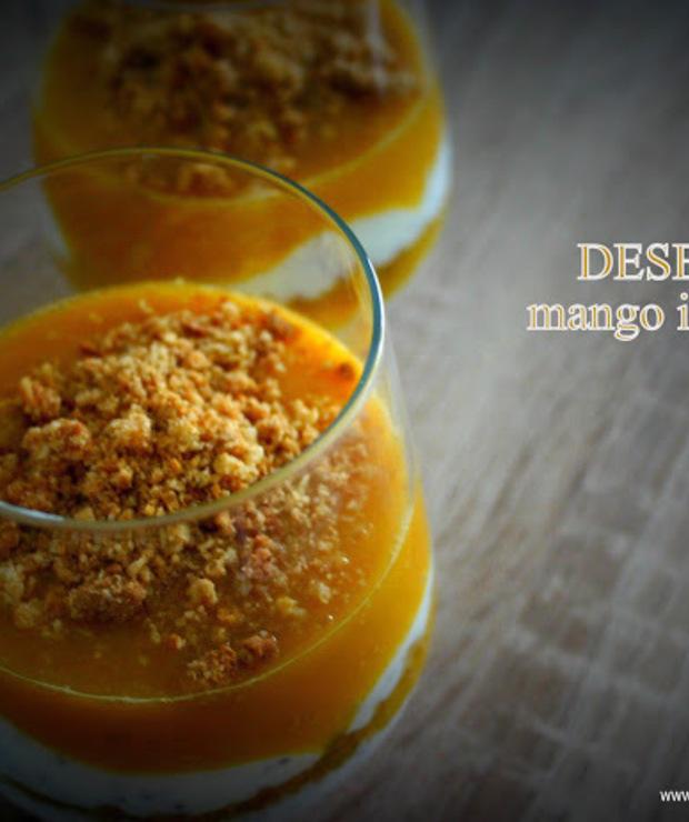 Warstwowy deser z mango i chia - Kremy