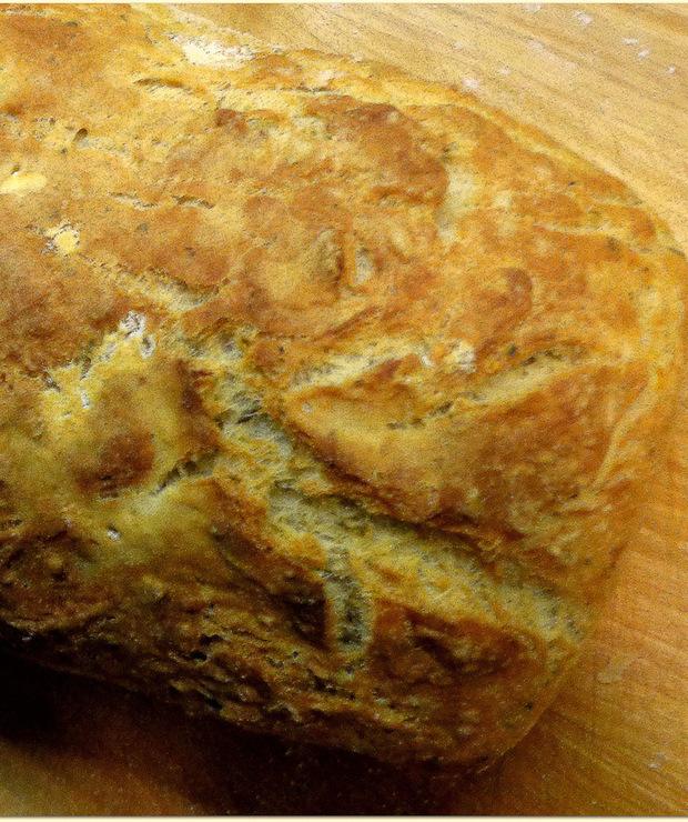 Chleb drwala – czyli szybki chleb na śniadanie - Chleby