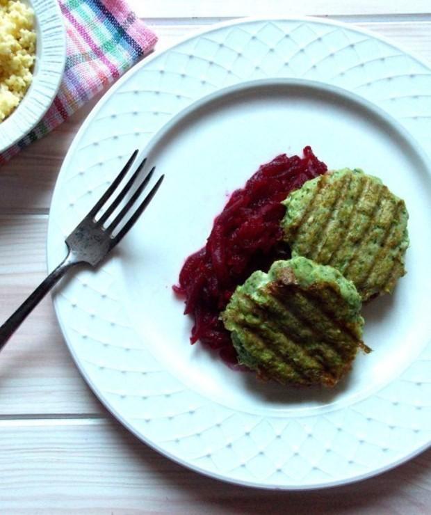 Zielone burgery rybne z mintaja - Inne