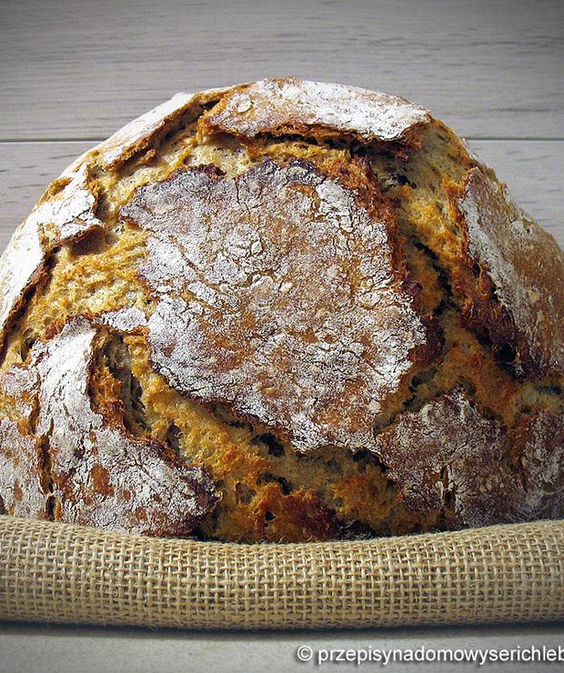 Niemiecki chleb farmerski, żytnio-pszenny (50/50) - Chleby
