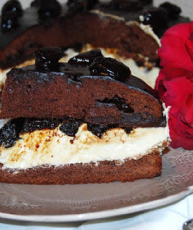 Pijana śliwka -ciasto - Torty