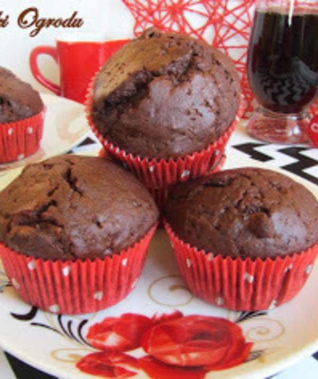 MUFFINKI CZEKOLADOWE Z COCA-COLĄ - Muffiny i babeczki
