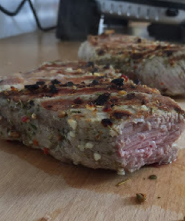 Karkówka z grilla elektrycznegi - Potrawy z grilla